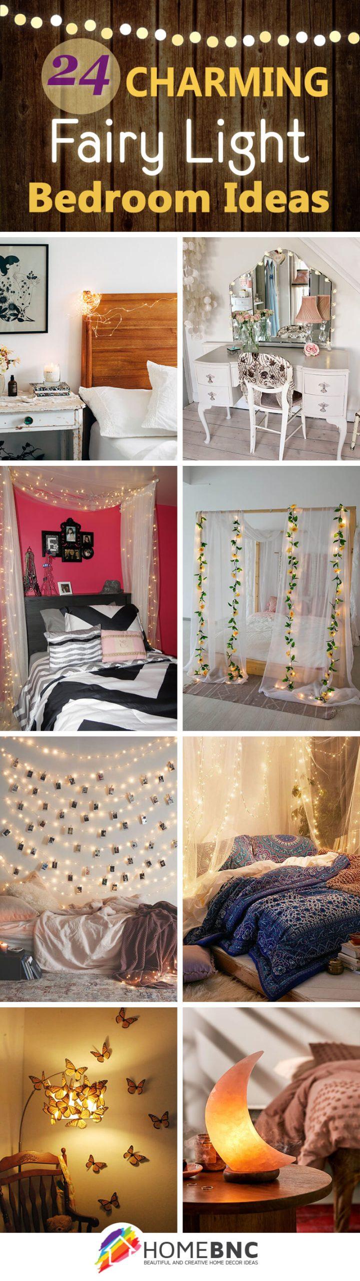 Best Fairy Lights Bedroom Ideas