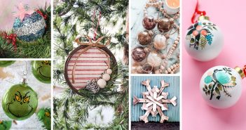 Best DIY Christmas Ball Ornament Ideas