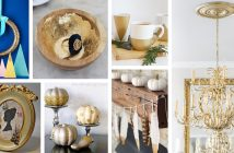 Best DIY Gold Projects and Home Decorations