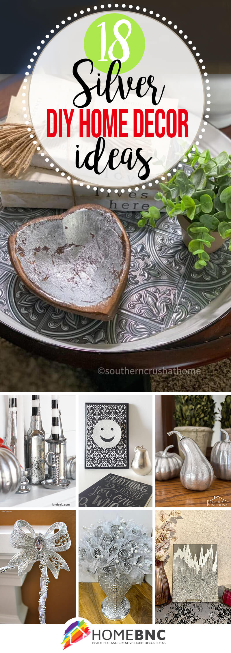 Best DIY Silver Projects and Home Decor Ideas