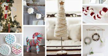 Best DIY Yarn Christmas Decorations