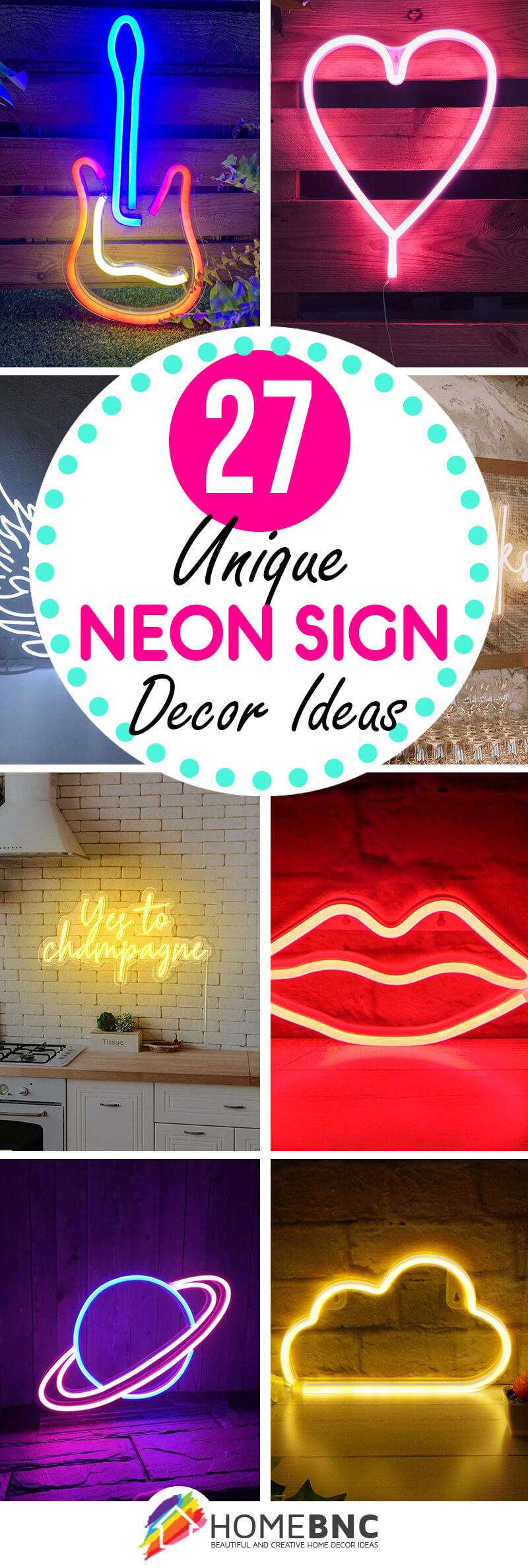Best Neon Sign Decor Ideas
